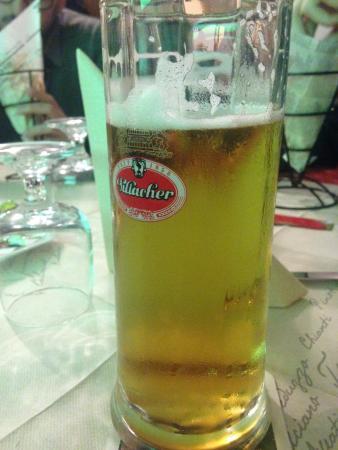 Il Faraone: .. Birra alla spina tedesca ..