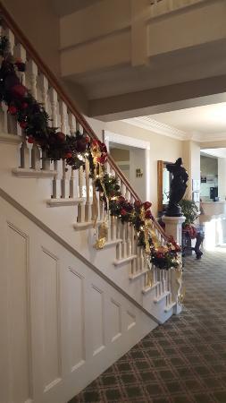Gananoque, Canada: Staircase to the Spa