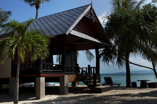 Dewshore Resort: beachfront bungalow R5