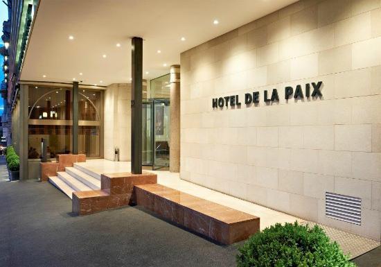 Hotel de la Paix: Entrée Hôtel