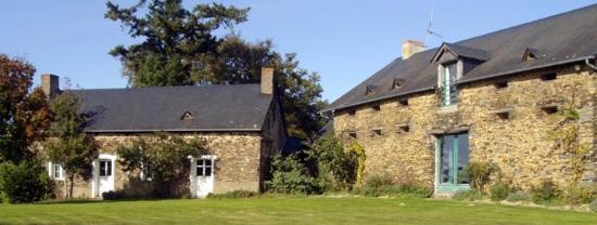 Logis des Aulnays: la maison