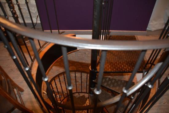 Ligre, Francia: Magnifique escalier