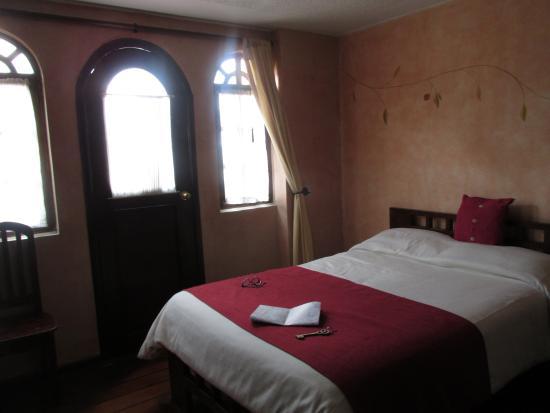 Hotel Sierra Madre: salida al balcón