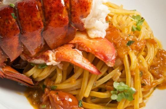 Patrizia's : Spaghette Alla Chitarra With Lobster
