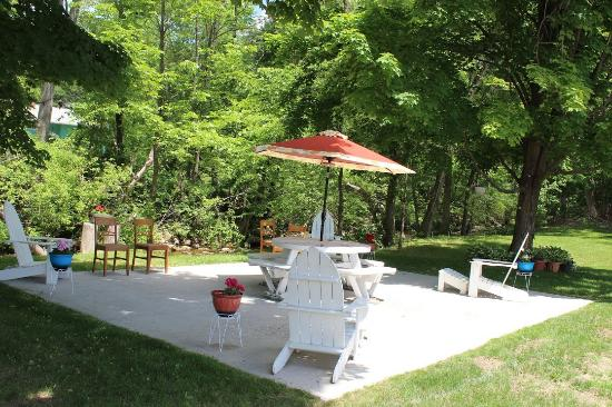 Williamstown, MA: RELAX OUTDOOR AREA
