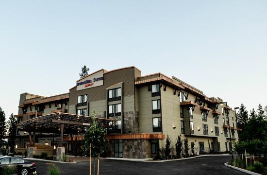 SpringHill Suites Coeur d'Alene: Hotel Exterior