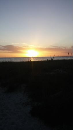 Rolling Waves Cottages: View from the sunset deck