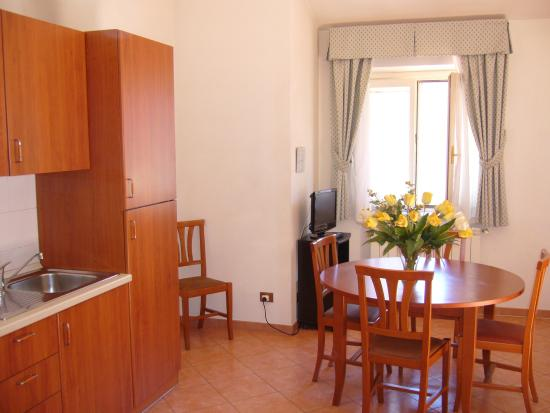 Residence San Pietro La Corte: Borromini living area