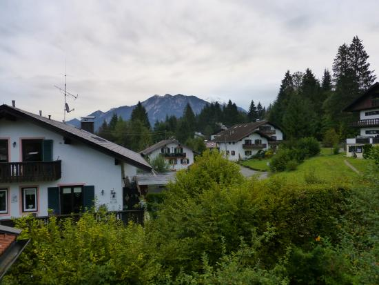 Gaestehaus Rusticana: View from the balcony