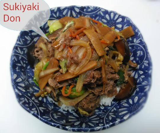 Newport News, VA: Sukiyaki Don