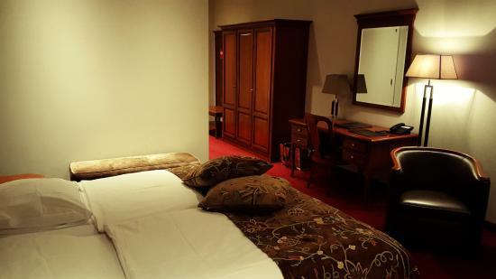 Parkhotel het Gulpdal: Penthouse suite, wat een gewone kamer blijkt te zijn