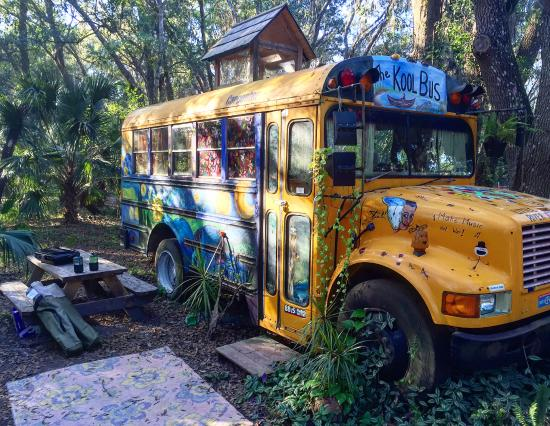 Canoe Outpost - Little Manatee River: We love KOOL BUS