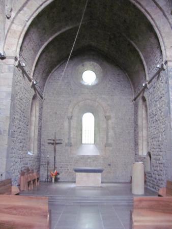 Monastere de Chalais : Intérieur de la chapelle