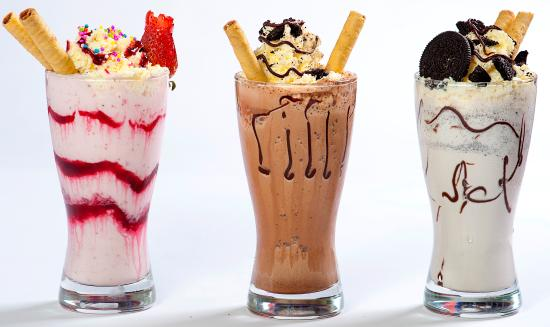 The Magic Bean: milkshakes