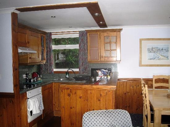 Lerags, UK: Kitchen area