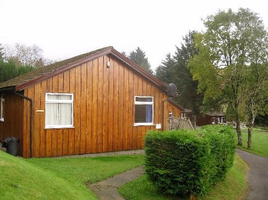 Lerags, UK: Path to lodge
