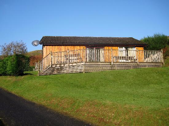 Lerags, UK: Lodge and verandah