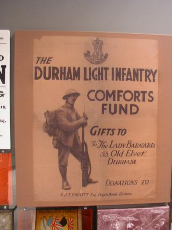 DLI Museum and Durham Art Gallery : Appeal for comforts for the Troops