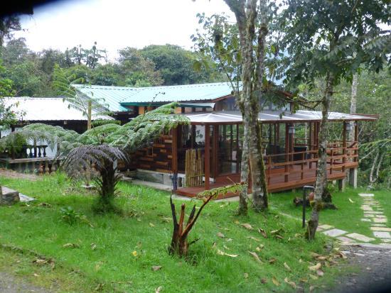 Cosanga, Ekwador: Restaurant