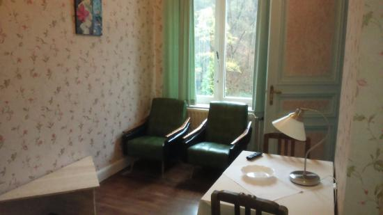 Chateau Bleu : salon in kamer