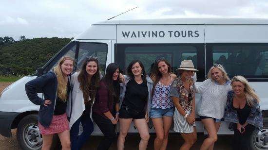 Isla Waiheke, Nueva Zelanda: Girls on tour