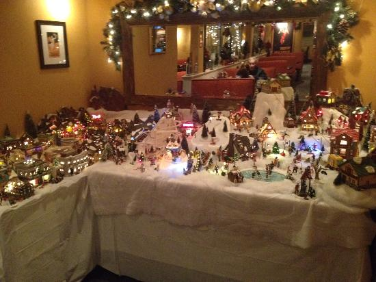 Campo Marina Restaurant Ltd: Little Christmas Vilage