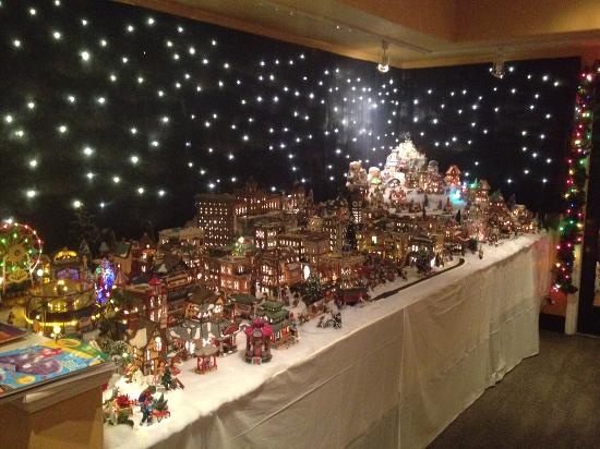 Christmas Villages.Little Christmas Village Picture Of Campo Marina