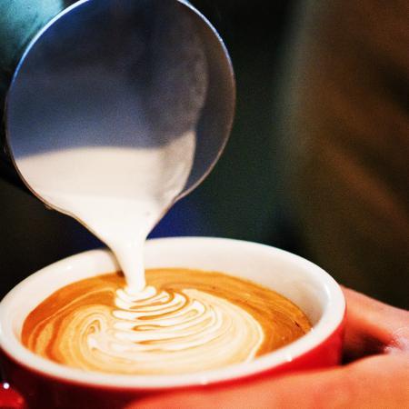 Sechelt, Canada: Latte Art