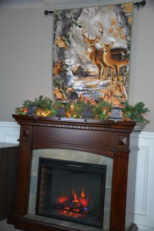 Bedford, Canadá: Meeting Room-Seasonal decorations at The Compass Rose