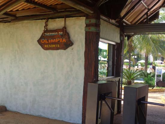 Entrada Para O Parque Thermas Dos Laranjais Pelo Hotel