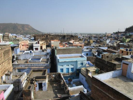Bundi Inn - A Heritage Haveli: view from restaurant