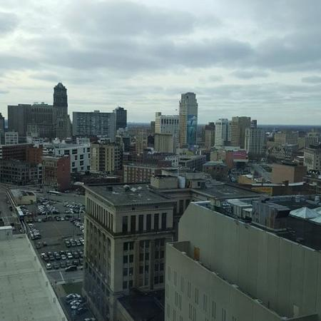 Greektown Casino Hotel: Room with a view