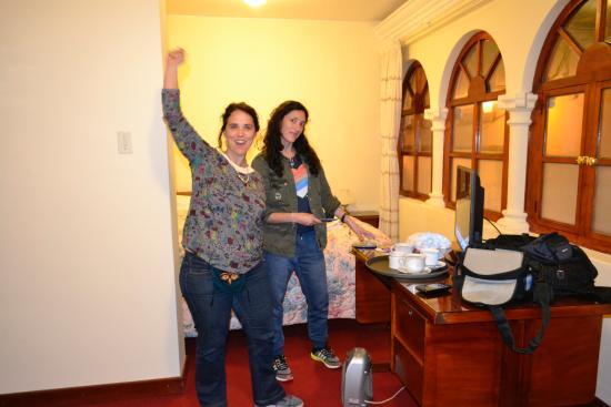 Hostal El Peregrino: Habitación para tres personas