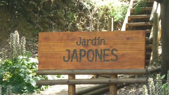 Foto de jardin japones santiago cartel informativo for Jardin japones de santiago