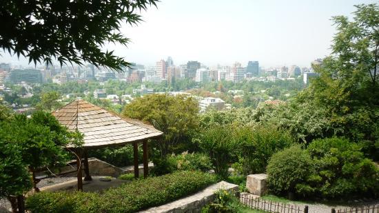 Dentro del jard n japon s fotograf a de jardin japones for Jardin japones de santiago