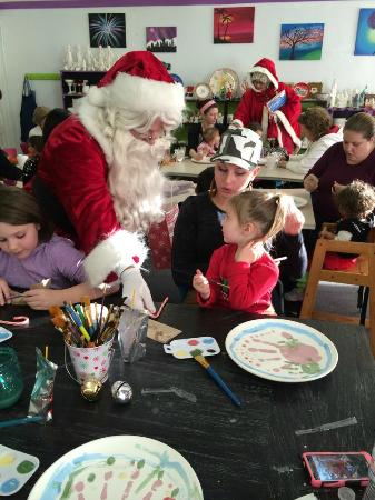 Spencer, MA: Fun with Santa