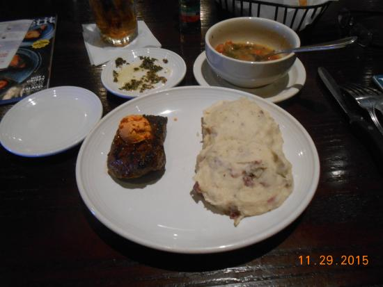 Carrabba's Italian Grill: over cooked steak