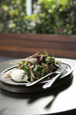 Esplanade Hotel Fremantle - by Rydges: Lamb salad at The Harbour Master