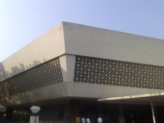Nehru Planetarium: Outside view