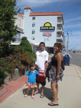 Days Inn & Suites Wildwood: Cansados