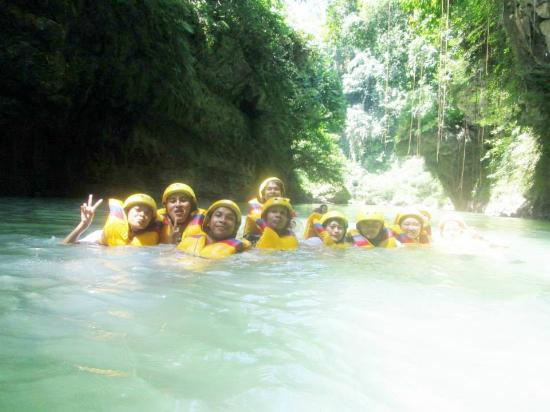 Green Canyon Body Rafting Picture of Ghaida Body Rafting Green