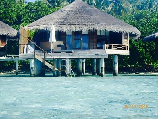 our water villa picture of kuramathi island resort kuramathi tripadvisor. Black Bedroom Furniture Sets. Home Design Ideas