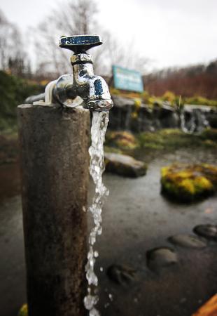 Makkari-mura, Japan: Never runs dry