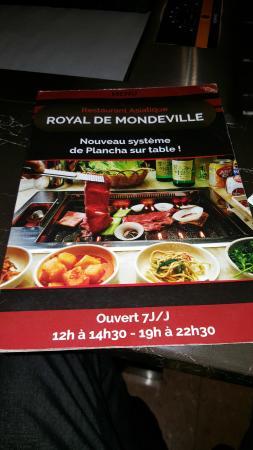 royal de mondeville restaurant avis num ro de t l phone photos tripadvisor. Black Bedroom Furniture Sets. Home Design Ideas