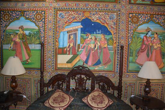 Muurschilderingen Voor Slaapkamer : Muurschilderingen slaapkamer picture of the heritage mandawa a