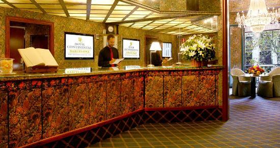Hotel Continental Baracelona: Front Desk Concierge and Reception