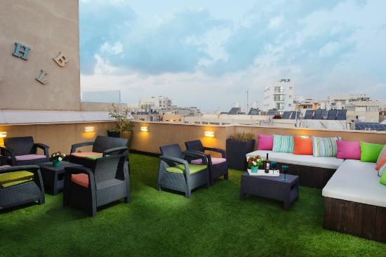 The Port Hotel TelAviv: Hotel Rooftop