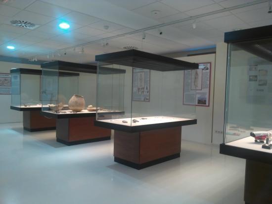Primera planta Museo Arqueológico Municipal de Enguera