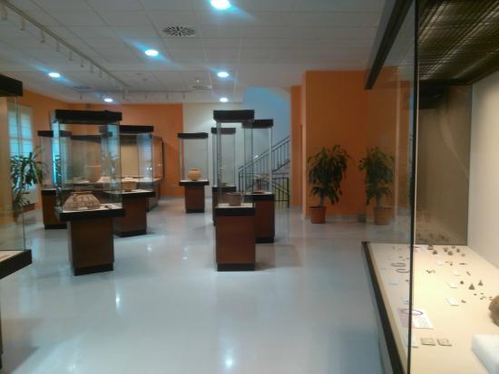 Segunda planta Museo Arqueológico Municipal de Enguera