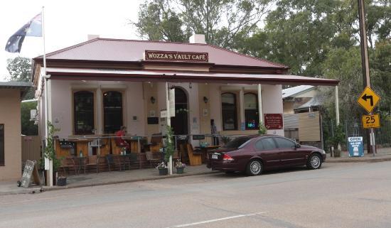 Melrose, Australia: Wozza Vault Cafe